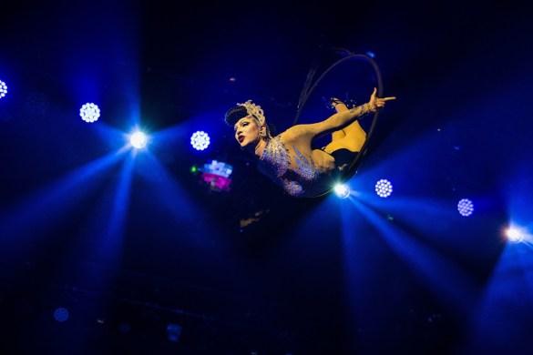 Violet Chachki for Lucha Vavoom Summer Lovin' @ The Mayan 7/26/18. Photo by Derrick K. Lee, Esq. (@Methodman13) for www.BlurredCulture.com.