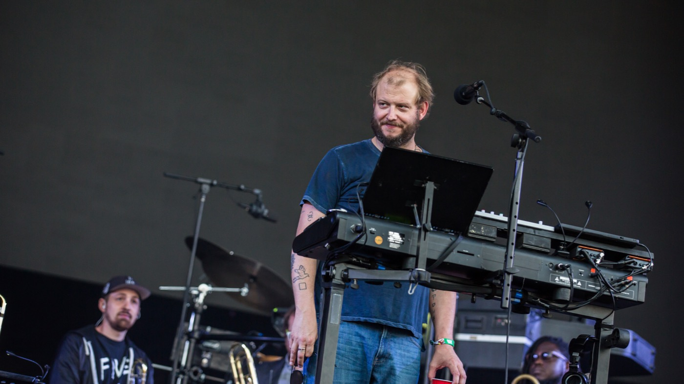 Bon Iver @ Outside Lands Music And Arts Festival 8/11/18. Photo by Derrick K. Lee, Esq. (@Methodman13) for www.BlurredCulture.com.