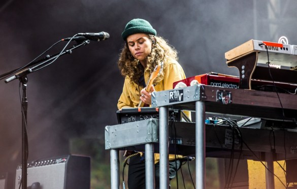 Tash Sultana @ Outside Lands Music And Arts Festival 8/12/18. Photo by Derrick K. Lee, Esq. (@Methodman13) for www.BlurredCulture.com.