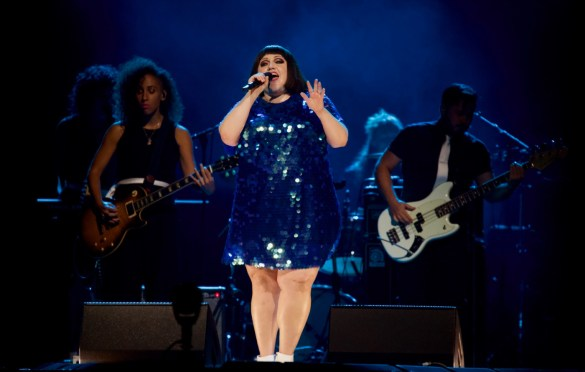 Beth Ditto @ Staples Center 8/28/18. Photo by Derrick K. Lee, Esq. (@Methodman13) for www.BlurredCulture.com.