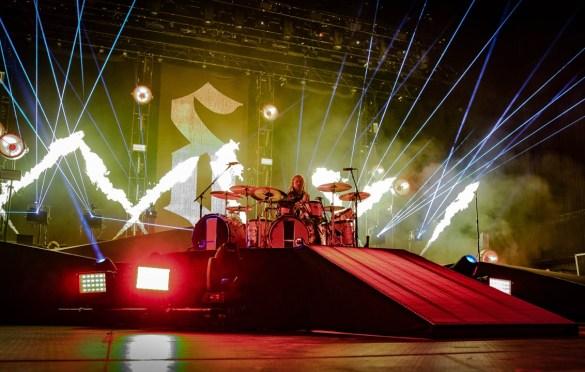 Shinedown @ BB&T Pavilion 8/26/18. Photo by Pat Gilrane Photo (@njpatg) for www.BlurredCulture.com.