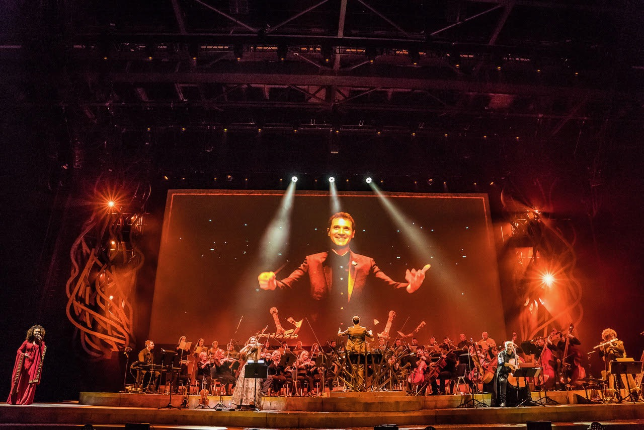 Game of Thrones Live Concert Experience: Ramin Djawadi 9/9/18. Photo by Ralph Larmann (@RalphLarmann). Courtesy of the artist. Used with permission.