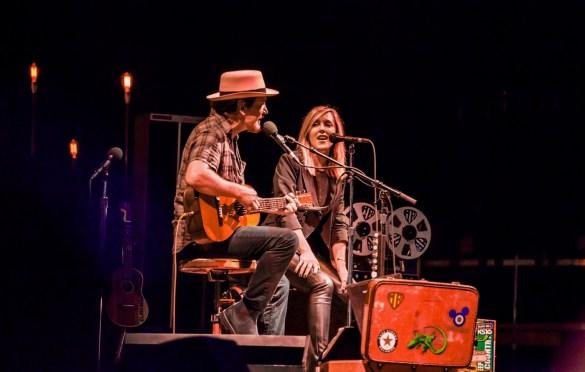 Eddie Vedder & Liz Phair @ The Ohana Fest 9/29/18. Photo by Derrick K. Lee, Esq. (@Methodman13) for www.BlurredCulture.com.
