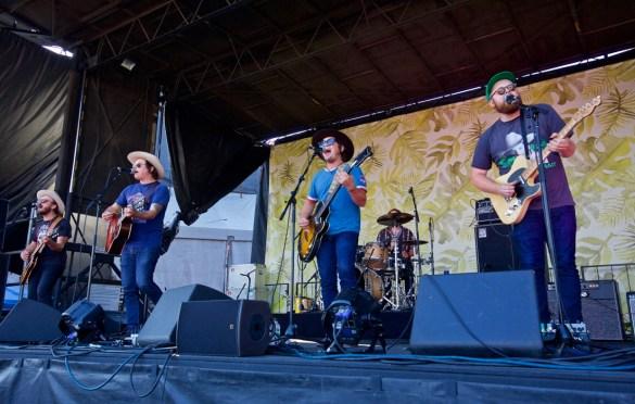 The Wild Feathers @ The Ohana Fest 9/30/18. Photo by Derrick K. Lee, Esq. (@Methodman13) for www.BlurredCulture.com.