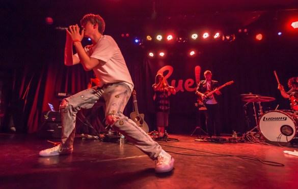 Ruel @ The Roxy 9/21/18.  Photo by Derrick K. Lee, Esq. (@Methodman13) for www.BlurredCulture.com.