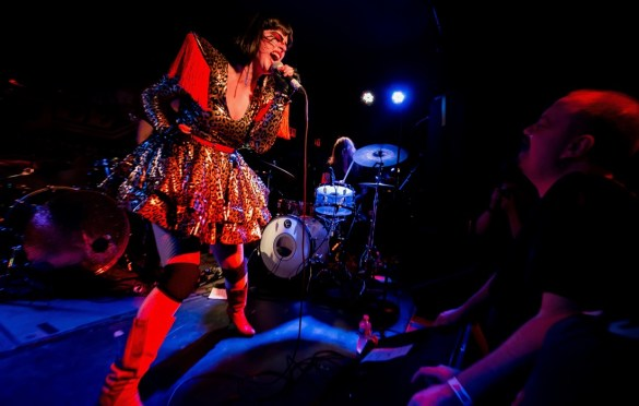 Mother Feather @ Brooklyn Bazaar 9/29/18. Photo by Cortney Armitage (@CortneyArmitage) for www.BlurredCulture.com.