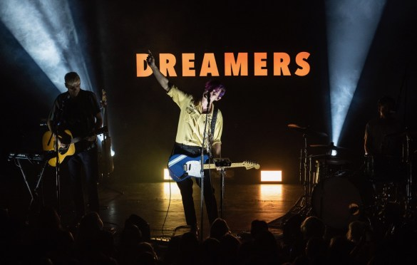 Dreamers @ Bowery Ballroom 10/1/18. Photo by Mike Golembo (@Instalembo) for www.BlurredCulture.com.