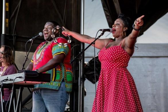 The War & Treaty @ The Ohana Fest 9/28/18. Photo by Derrick K. Lee, Esq. (@Methodman13) for www.BlurredCulture.com.