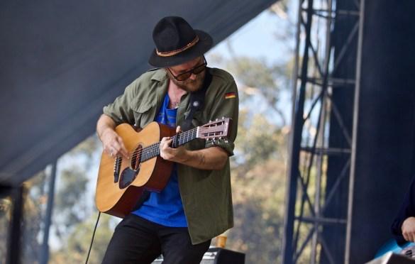 Hiss Golden Messenger @ The Ohana Fest 9/30/18. Photo by Derrick K. Lee, Esq. (@Methodman13) for www.BlurredCulture.com.