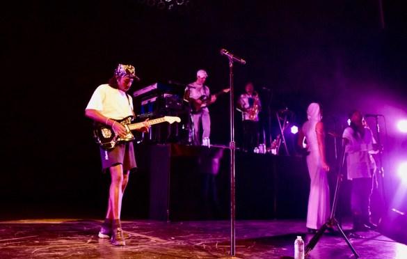 Blood Orange @ The Greek Theatre 9/18/18. Photo by Alana Hillman (@Lanz.La) for www.BlurredCulture.com.