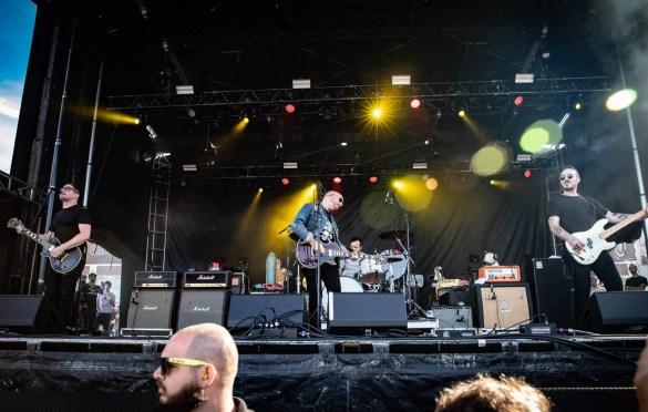 The Menzingers @ Sea.Hear.Now 2018 9/30/18. Photo by Pat Gilrane Photo (@njpatg) for www.BlurredCulture.com.