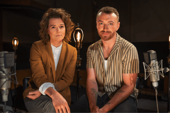 Brandi Carlile & Sam Smith. Photo by Matt Hayslett. Courtesy of Brandi Carlile. Used with Permission.
