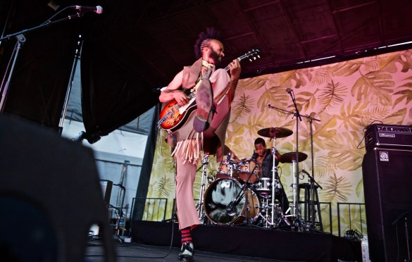 Fantastic Negrito @ The Ohana Fest 9/30/18. Photo by Derrick K. Lee, Esq. (@Methodman13) for www.BlurredCulture.com.
