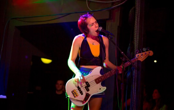 Dream Wife @ The Echo 10/10/18. Photo by Derrick K. Lee, Esq. (@Methodman13) for www.BlurredCulture.com.