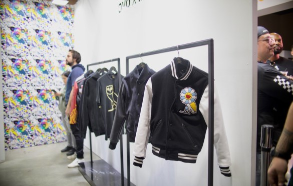 OVO and Takashi Murakami @ ComplexCon 2018. Photo by Markie Escalante (@Markie818) for www.BlurredCulture.com.