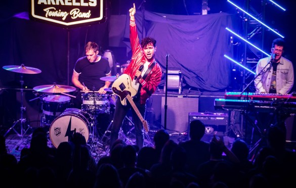 Arkells @ Theater of The Living Arts 11/7/18. Photo by Pat Gilrane Photo (@njpatg) for www.BlurredCulture.com.