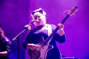 Shannon Shaw at KCRW's Masquerade Ball @ Historic Los Angeles Theatre 10/27/18. Photo by Derrick K. Lee, Esq. (@Methodman13) for www.BlurredCulture.com.