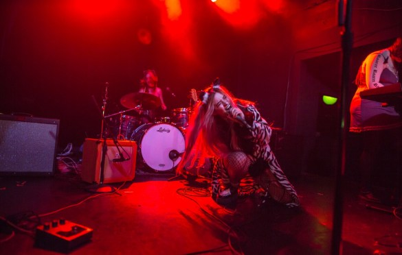 The Aquadolls @ The Echo 10/10/18. Photo by Derrick K. Lee, Esq. (@Methodman13) for www.BlurredCulture.com.