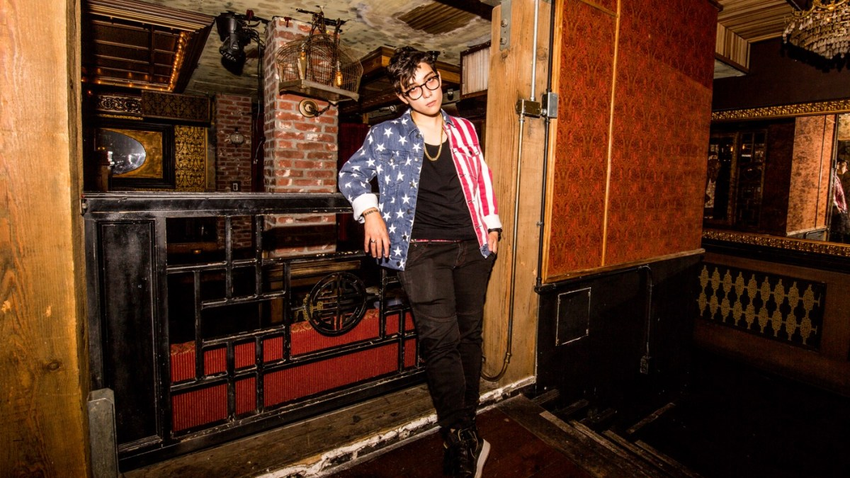 Ryan Cassata (Portrait) @ Madame Siam 11/3/18. Photo by Derrick K. Lee, Esq. (@Methodman13) for www.BlurredCulture.com.