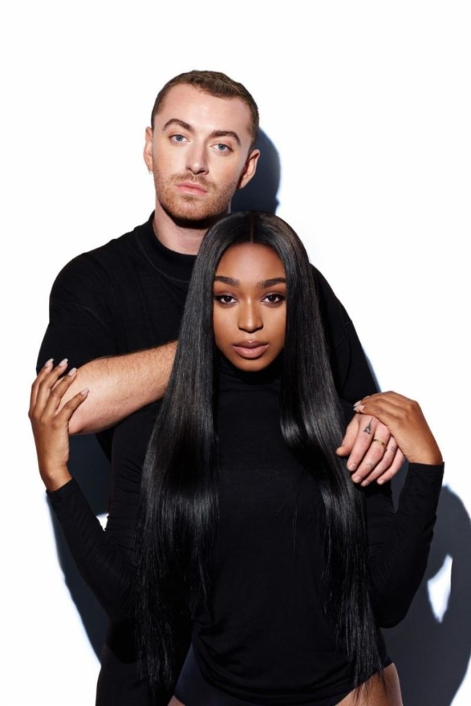 Sam Smith & Normani. Photo by Steve Schofield. Courtesy of Capitol Music Group. Used with Permission.