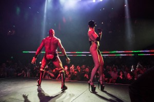 Lucha VaVOOM @ Mayan Theatre 5/4/18. Photo by Timothy Norris (@TimothyNorris). Courtesy of Lucha VaVOOM. Used with permission.