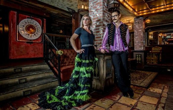 Machine, Portrait @ Madame Siam 10/13/18. Photo by Derrick K. Lee, Esq. (@Methodman13) for www.BlurredCulture.com.