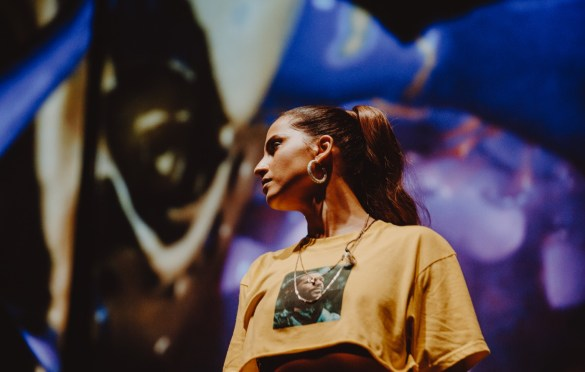 Snoh Aalegra for Soulection Experience @ The Shrine Auditorium 2/2/19.  Photo by Summer Dos Santos (@SummerDosSantos) for www.BlurredCulture.com.