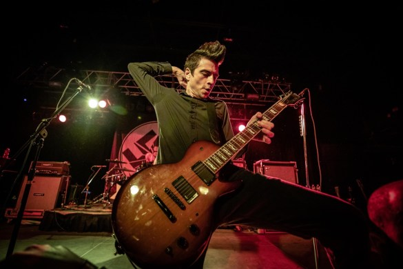 Anti-Flag @ Starland Ballroom 2/22/19. Photo by Pat Gilrane Photo (@njpatg) for www.BlurredCulture.com.