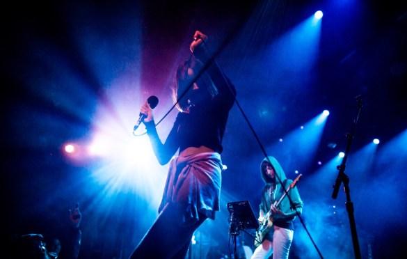 Warpaint @ The Echoplex for Love You Down III 2/8/19. Photo by Derrick K. Lee, Esq. (@Methodman13) for www.BlurredCulture.com.