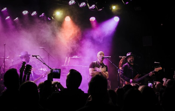 Live @ The Roxy 3/12/19. Photo courtesy of MSO PR. Used with permission.