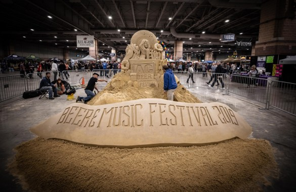 The Atlantic City Beer & Music Festival 2019 @ The Atlantic City Convention Center. Photo by Pat Gilrane Photo (@njpatg) for www.BlurredCulture.com.
