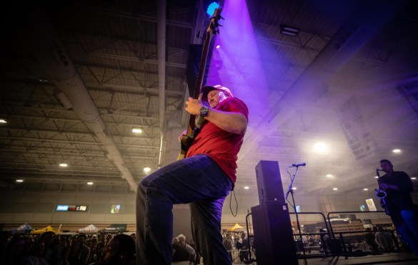 Soja @ The Atlantic City Beer & Music Festival 3/30/19. Photo by Pat Gilrane Photo (@njpatg) for www.BlurredCulture.com.