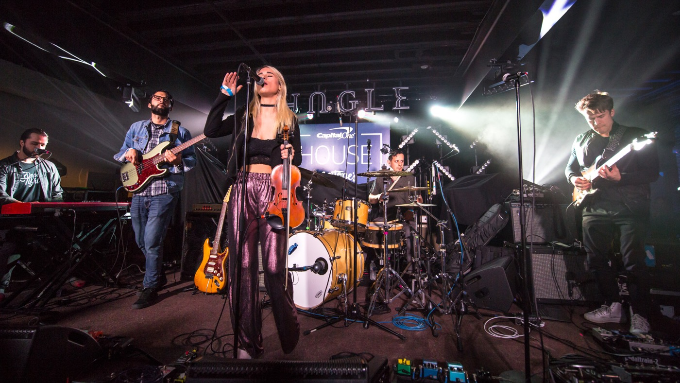 Ruby Jane w/ 512 Coalition for Capital One House At SXSW @ Antone's 3/11/19. Photo by Derrick K. Lee, Esq. (@Methodman13) for www.BlurredCulture.com.