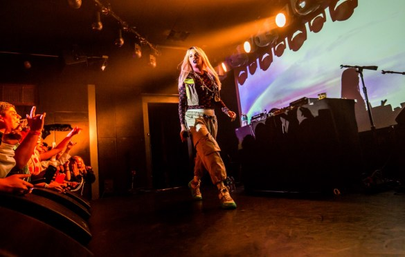 Tommy Genesis @ The Moroccan Lounge 3/29/19. Photo by Derrick K. Lee, Esq. (@Methodman13) for www.BlurredCulture.com.