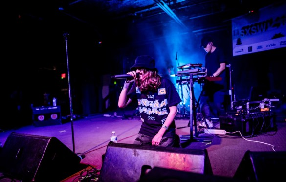 bülow at SXSW presented by Neon Gold Records @ Empire Garage 3/13/19. Photo by Derrick K. Lee, Esq. (@Methodman13) for www.BlurredCulture.com.