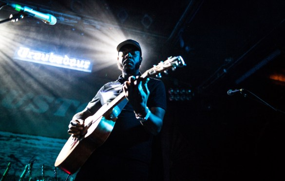 Mel Washington @ The Troubadour 3/22/19. Photo by Derrick K. Lee, Esq. (@Methodman13) for www.BlurredCulture.com.