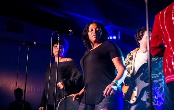 Black Pumas for Capital One House at SXSW @ Antone's 3/11/19. Photo by Derrick K. Lee, Esq. (@Methodman13) for www.BlurredCulture.com.