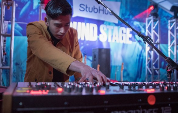 Sir Sly @ for StubHub Sound Stage at SXSW 3/14/19. Photo by Mike Golembo (@Instalembo) for www.BlurredCulture.com.