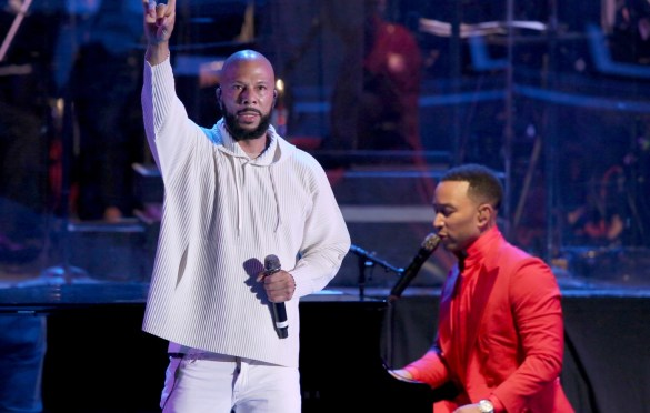 Common w/ John Legend @ Hollywood Bowl 6/15/19. Photo by Craig T. Mathew and Greg Grudt/Mathew Imaging. Courtesy of the Hollywood Bowl. Used with permission.