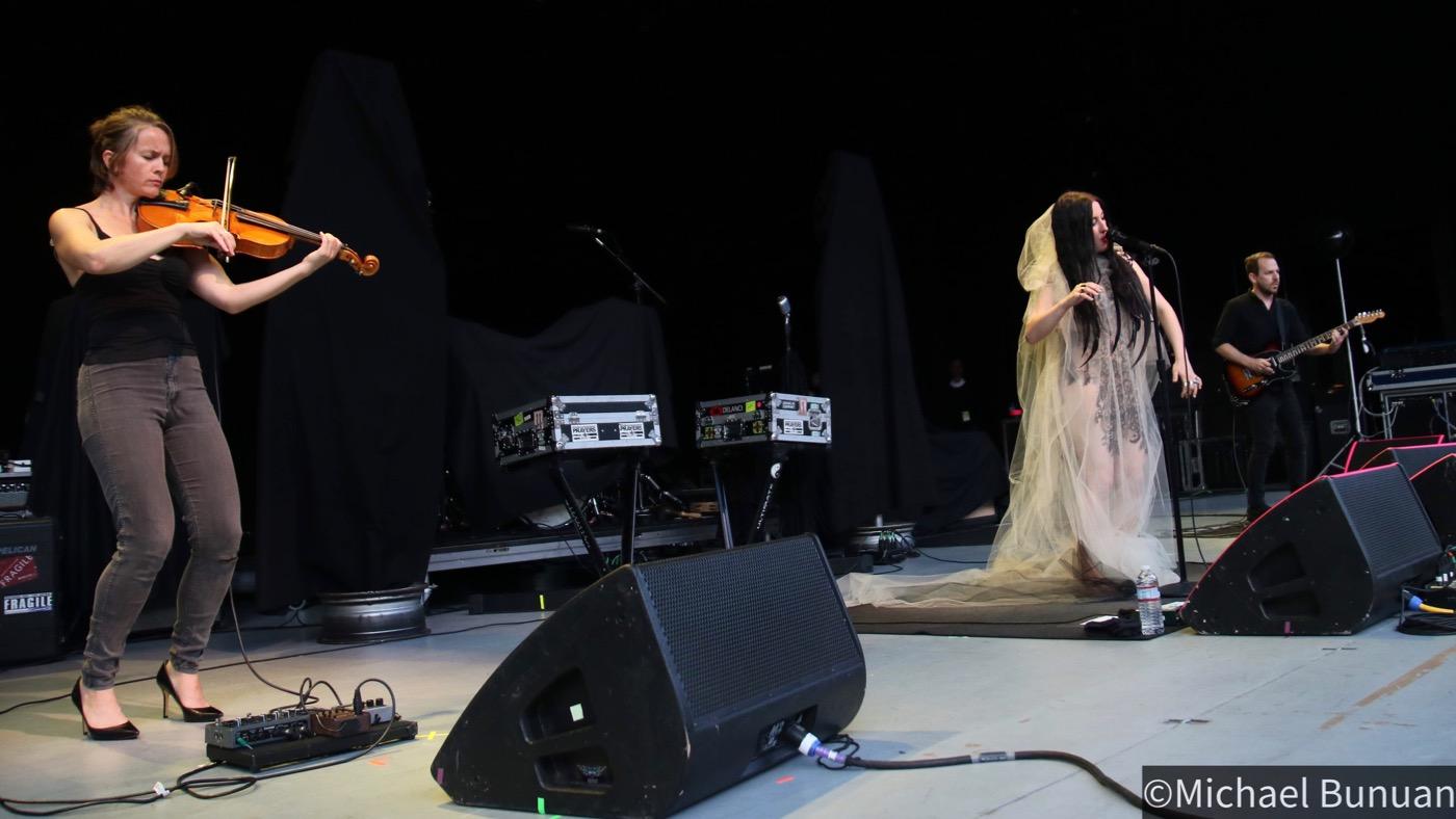 Zola Jesus @ Greek Theatre 6/15/19. Photo by Michael Bunuan. (@Michael_Bunuan_Photogrpahy) for www.BlurredCulture.com.