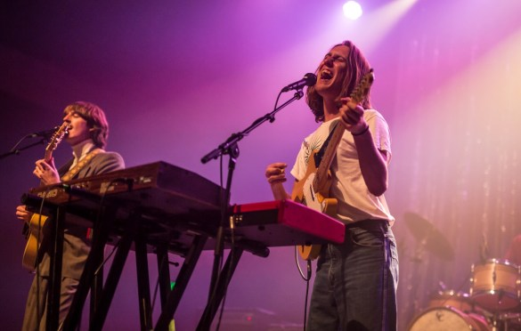 Parcels @ Fonda Theatre 4/18/19. Photo by Derrick K. Lee, Esq (@Methodman13) for www.BlurredCulture.com.