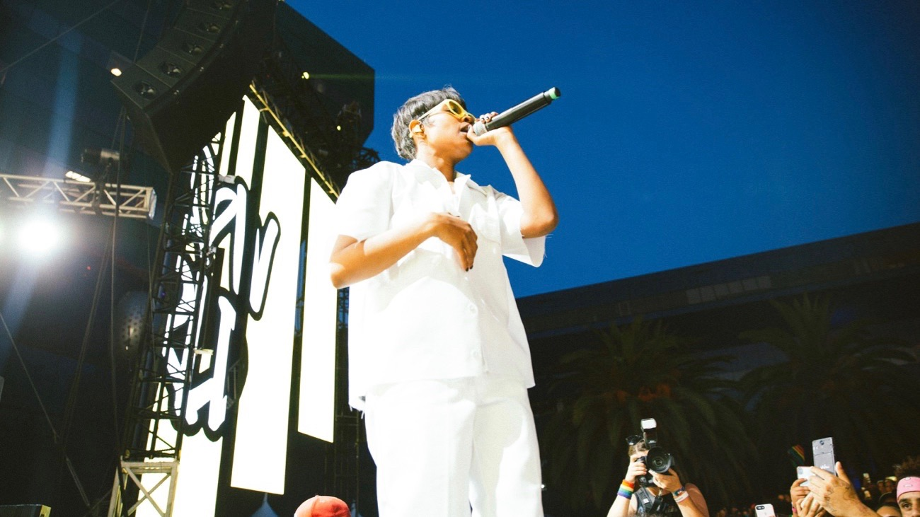 DeJ Loaf @ LA! Pride 6/9/19. Photo by Summer Dos Santos (@SummerDosSantos) for www.BlurredCulture.com.