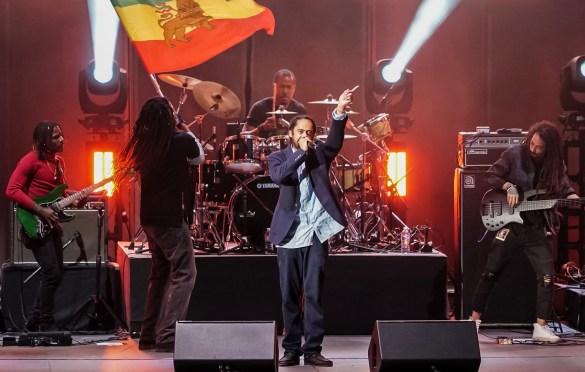 Damian Marley @ Hollywood Bowl 7/7/19. Photo by Simran Singh (@dj.sim) for www.BlurredCulture.com.