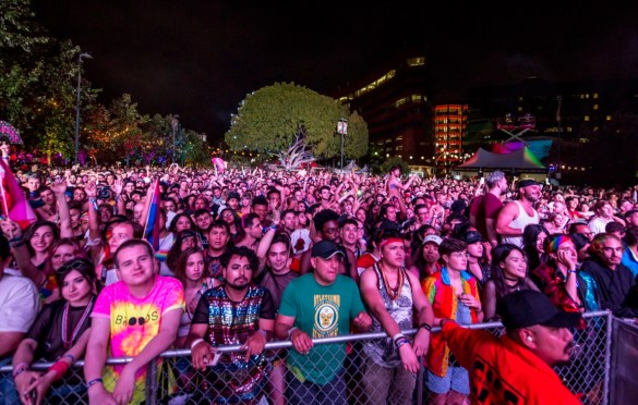 LA! Pride. Atmosphere 6/9/19. Photo by Derrick K. Lee, Esq. (@Methodman13) for www.BlurredCulture.com.