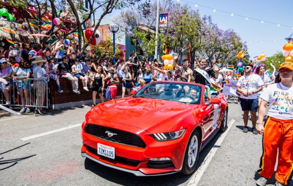LA! Pride Parade 6/9/19. Photo by Derrick K. Lee, Esq. (@Methodman13) for www.BlurredCulture.com.