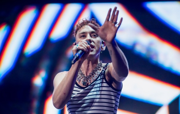 Years & Years @ LA! Pride 6/9/19. Photo by Derrick K. Lee, Esq. (@Methodman13) for www.BlurredCulture.com.