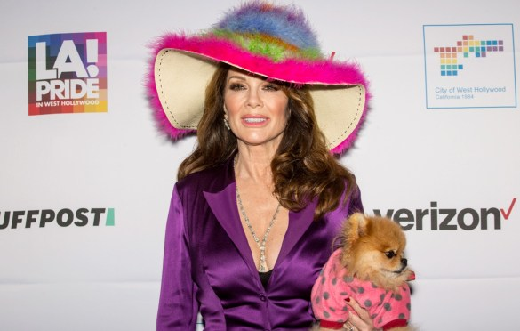 Lisa Vanderpump @ LA! Pride. Atmosphere 6/7/19. Photo by Derrick K. Lee, Esq. (@Methodman13) for www.BlurredCulture.com.