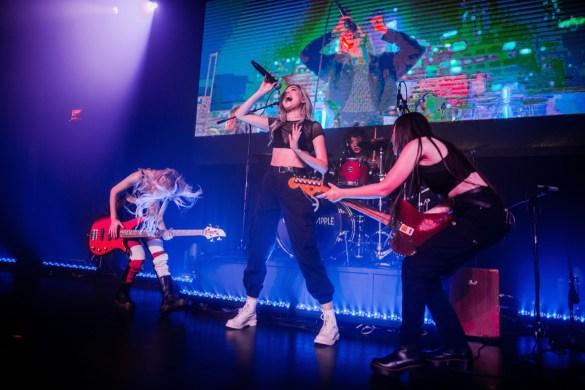 Crimson Apple @ Live House Hollywood 6/6/19. Photo by Derrick K. Lee, Esq. (@Methodman13) for www.BlurredCulture.com.