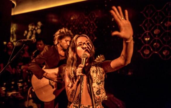 Aging Actress @ Club Tee Gee 6/30/19. Photo by Derrick K. Lee, Esq. (@Methodman13) for www.BlurredCulture.com.