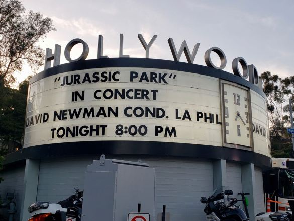"""""""Jurassic Park -- in Concert"""" @ Hollywood Bowl 8/17/19. Photo by Level With Music (@LevelWithMusic) for www.BlurredCulture.com."""